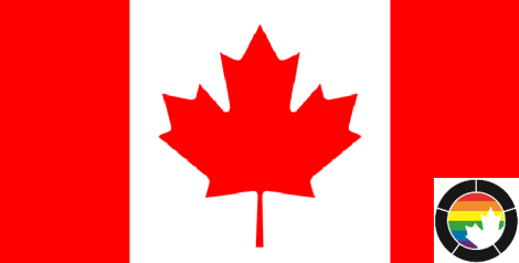 Canada Flag + ROW Icon