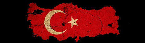 Turkey Map and Flag
