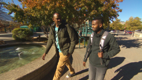 Abdikadir Ahmed Omar, left, and Guled Abdi Omar arrived in Manitoba in July, but both men have had their refugee board hearings delayed.